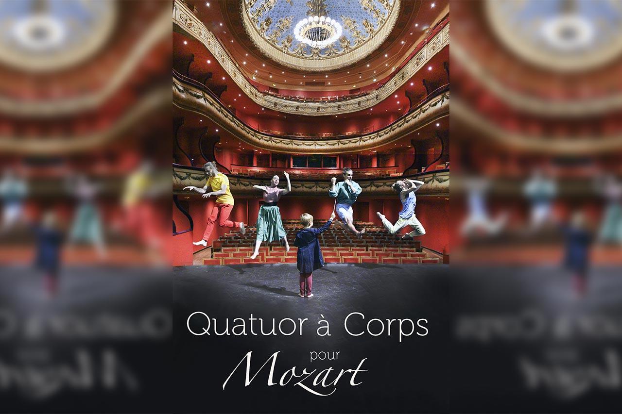 Quatuor a corps pour mozart compagnie 1 promptu
