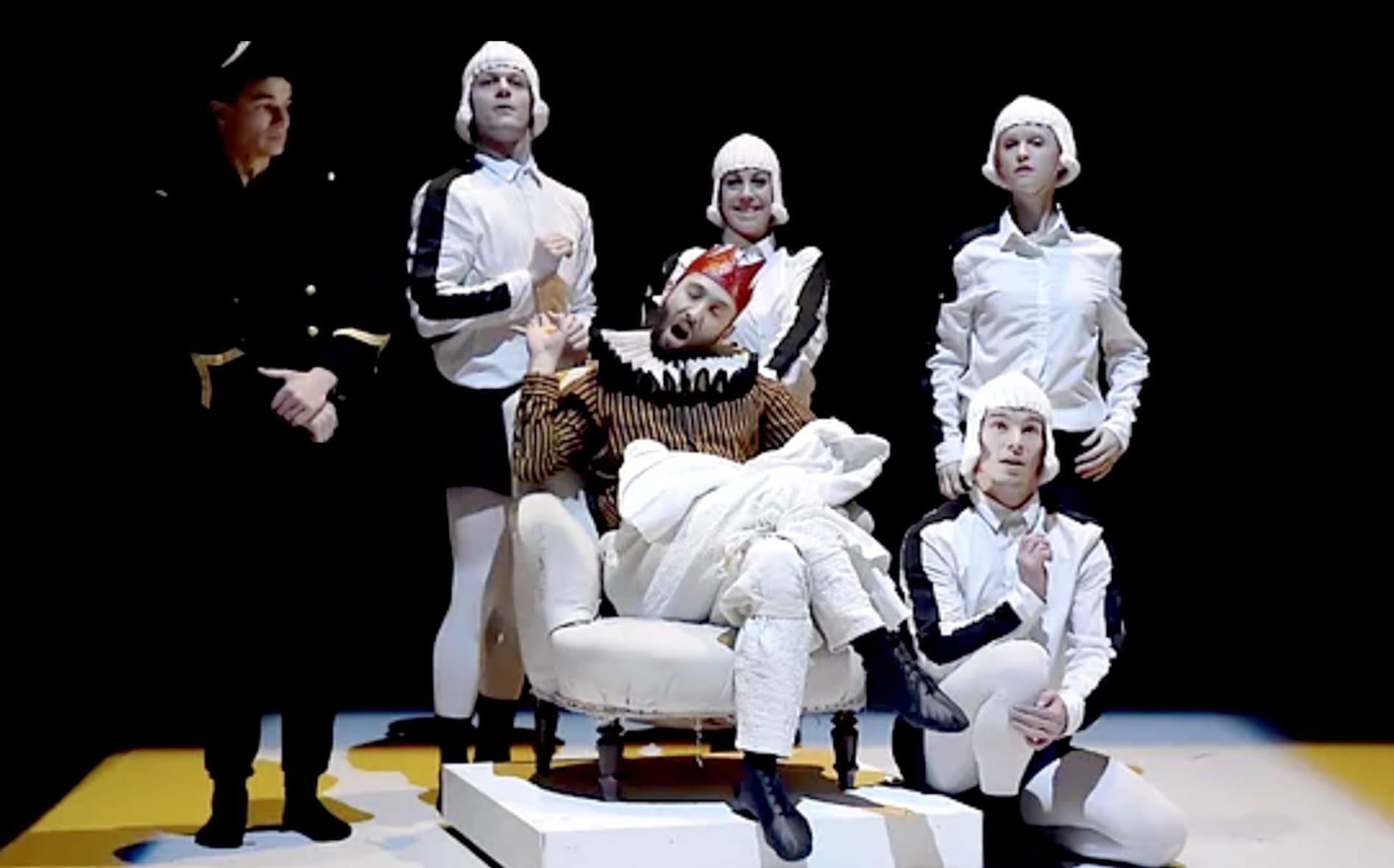 Quatuor a Corps Mozart Compagnie 1promptu Emilie Lalande