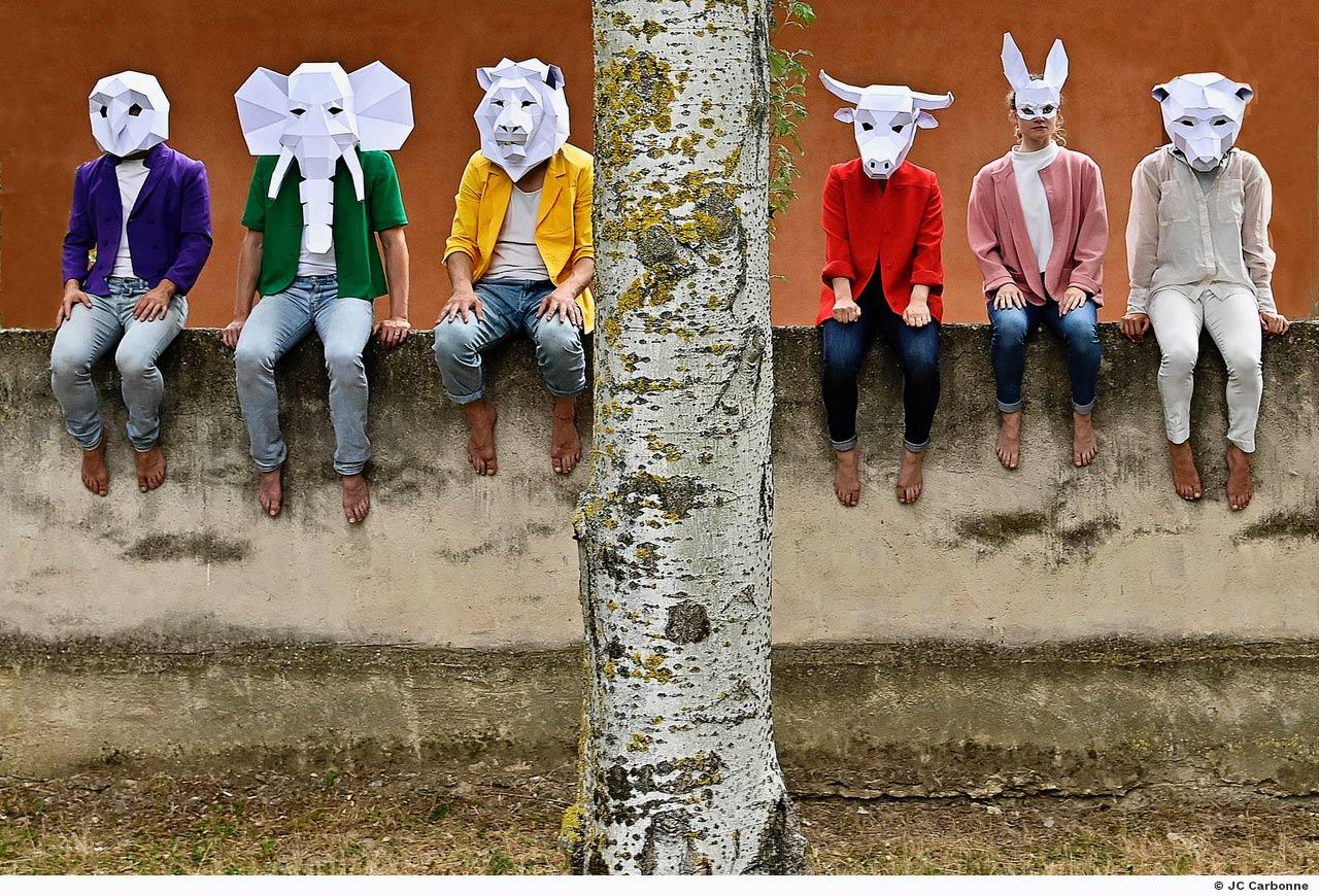 le carnaval des animaux Cie 1promptu Emilie Lalande